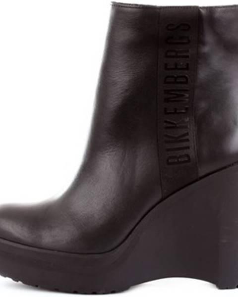 Čierne čižmy Bikkembergs