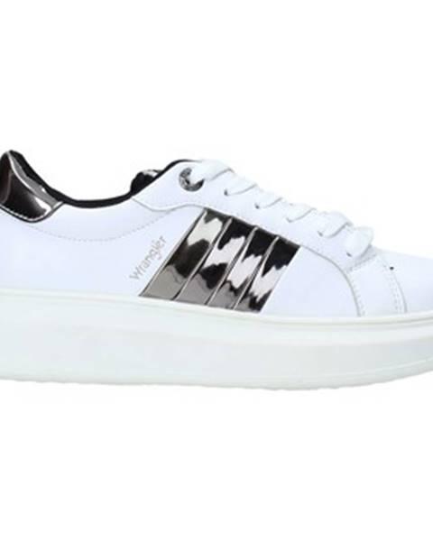 Biele tenisky Wrangler