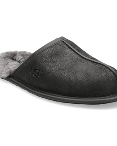 Čierne papuče UGG