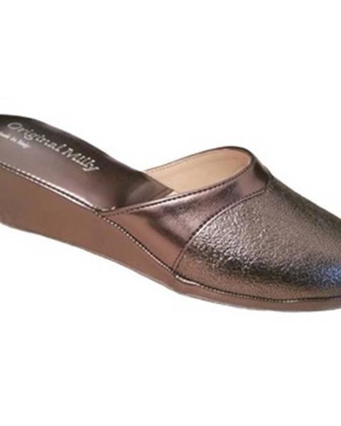Hnedé topánky Milly