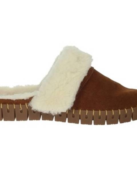 Hnedé papuče Nina Capri
