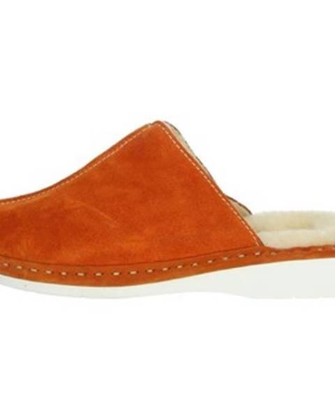 Oranžové papuče Riposella