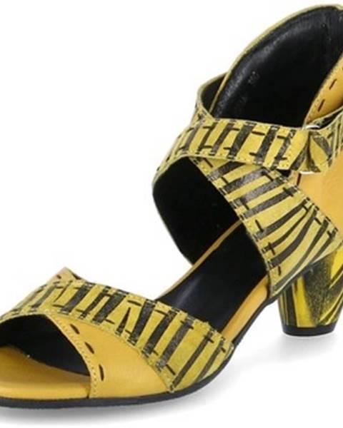 Viacfarebné sandále Simen