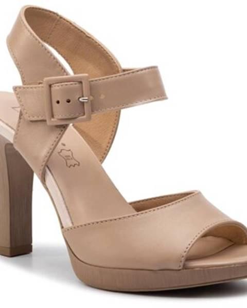 Béžové sandále Lasocki