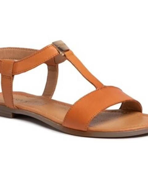 Oranžové sandále Lasocki