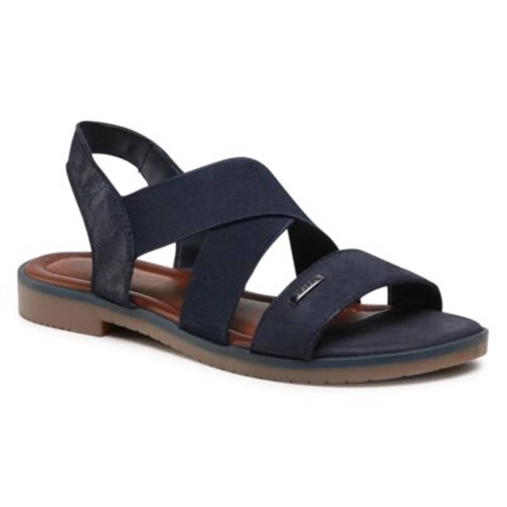Lasocki Sandále Lasocki WI16-DOROTHY-01 Prírodná koža(useň) - Zamš