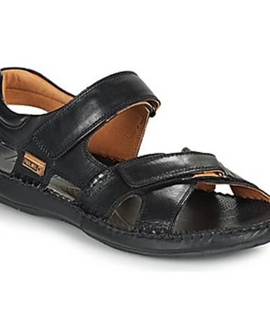 Čierne sandále Pikolinos