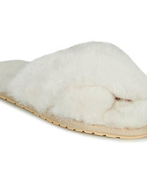 Biele papuče EMU