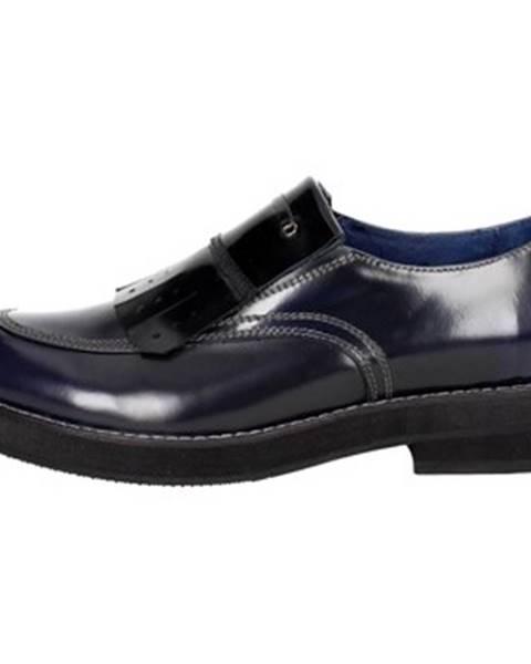 Modré topánky Luciano Barachini