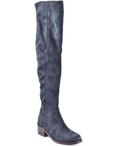 Modré čižmy Grace Shoes