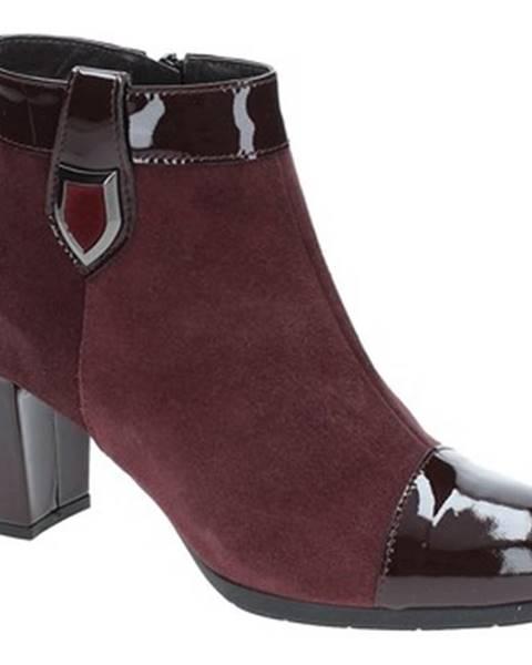 Červené topánky Soffice Sogno