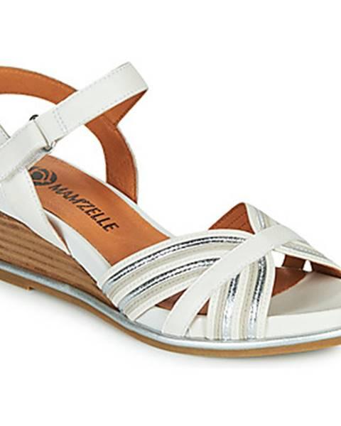 Biele sandále Mam'Zelle