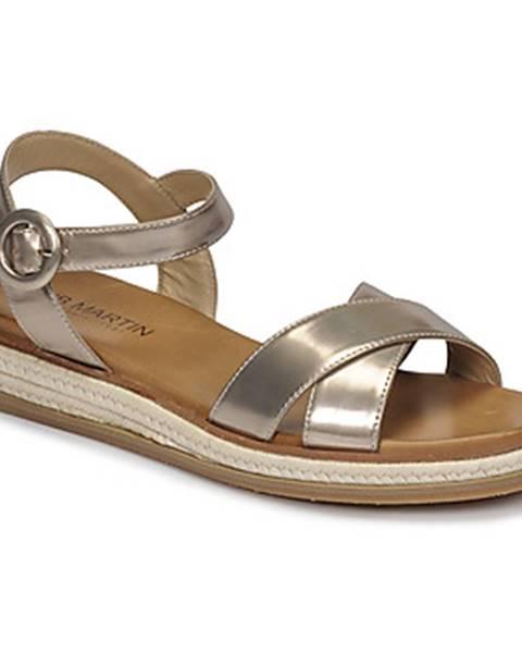 Béžové sandále JB Martin