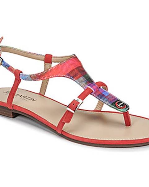 Červené sandále JB Martin