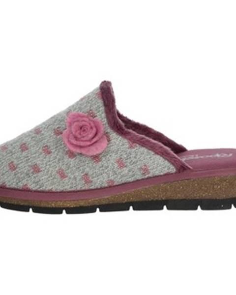 Fialové topánky Riposella