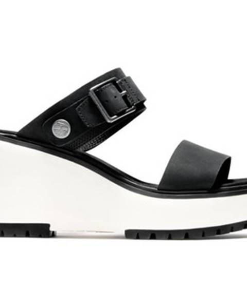 Čierne sandále Timberland