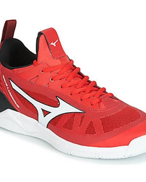 Červené topánky Mizuno