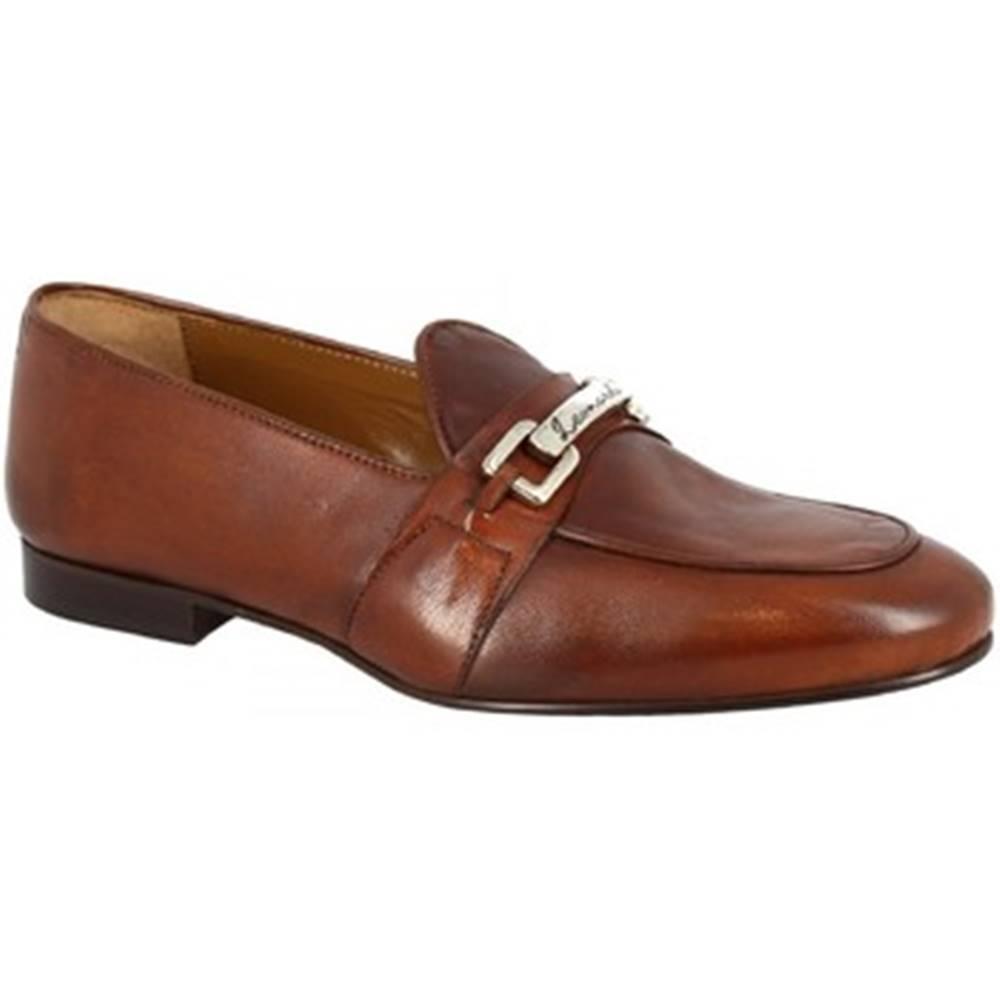 Leonardo Shoes Mokasíny Leonardo Shoes  1088_7 PE SOFTY CUOIO