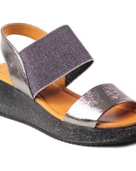 Viacfarebné sandále Venezia