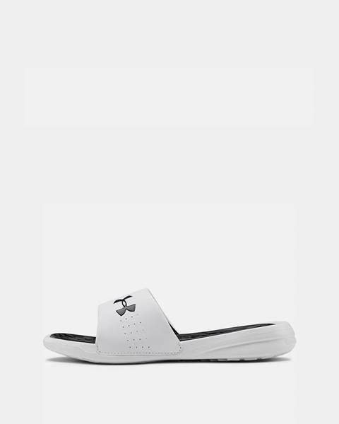 Biele papuče Under Armour