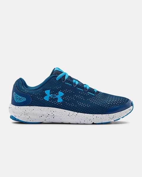 Modré topánky Under Armour