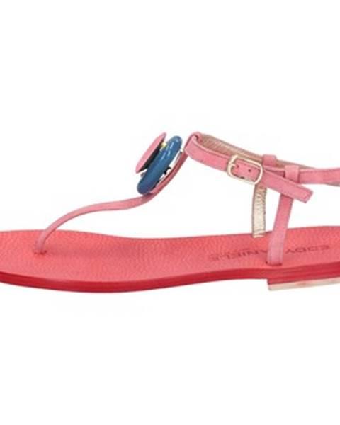 Ružové sandále Eddy Daniele