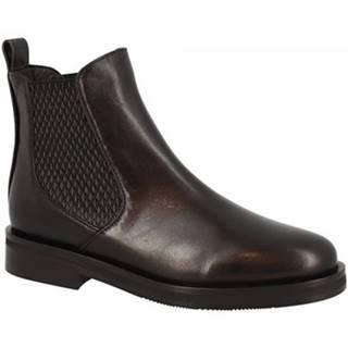 Polokozačky Leonardo Shoes  2026 NAPPA NERO