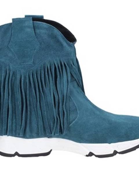 Zelené topánky Olga Rubini