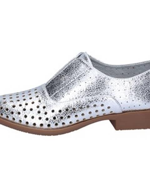 Strieborné topánky Francescomilano