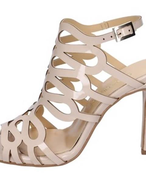 Béžové sandále Olga Rubini