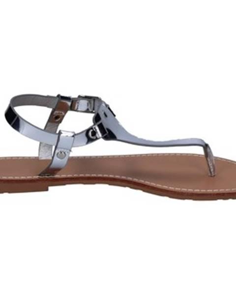 Strieborné sandále Francescomilano
