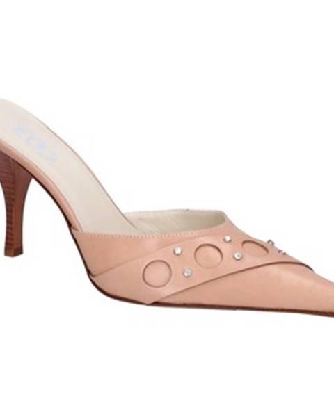 Béžové sandále Gozzi Ego