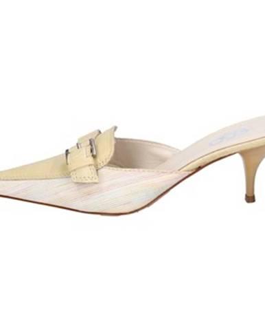 Žlté sandále Gozzi Ego