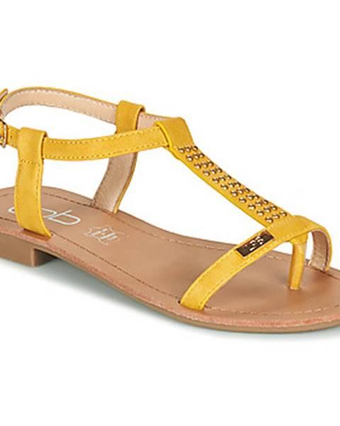 Žlté sandále Les Petites Bombes