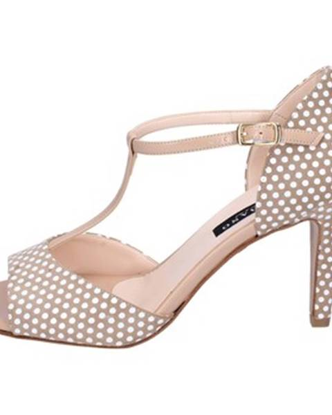 Béžové sandále Albano