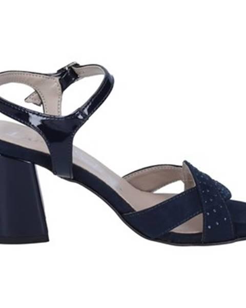 Modré sandále Lady Soft