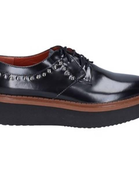 Čierne topánky Rossano Bisconti