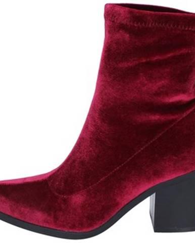Bordové topánky Fornarina