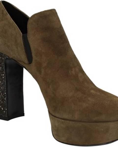 Zelené topánky Alberto Gozzi