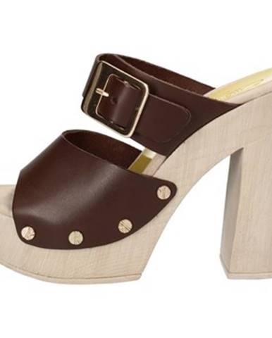 Hnedé sandále Suky Brand