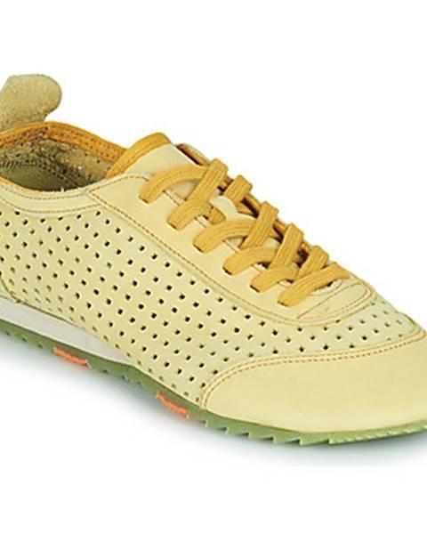 Žlté tenisky Art