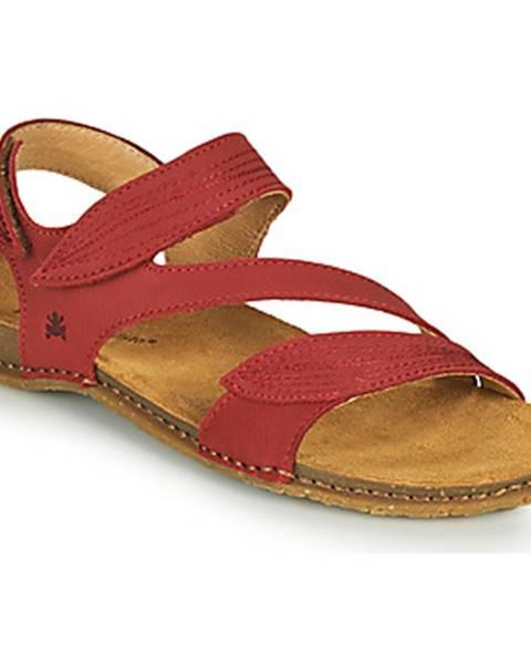 Červené sandále El Naturalista