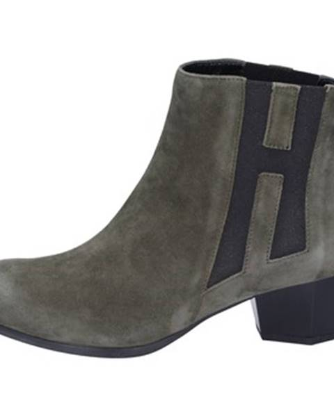 Zelené topánky Hogan