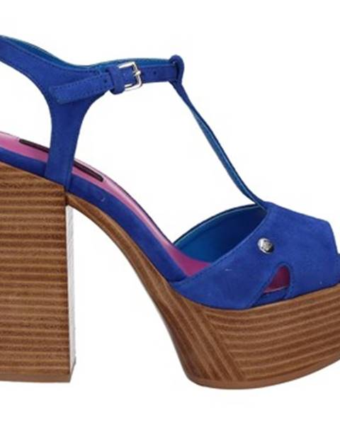 Modré sandále Fornarina