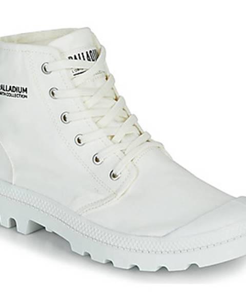 Biele polokozačky Palladium