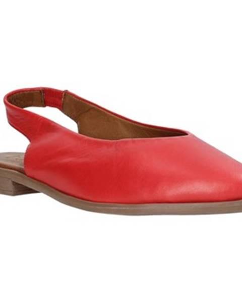 Červené sandále Bueno Shoes