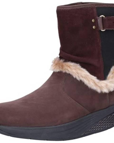 Hnedé topánky Mbt