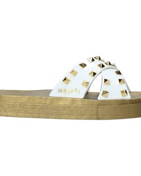 Biele topánky Sensi
