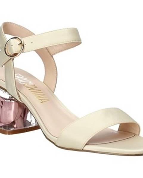 Béžové sandále Fracomina
