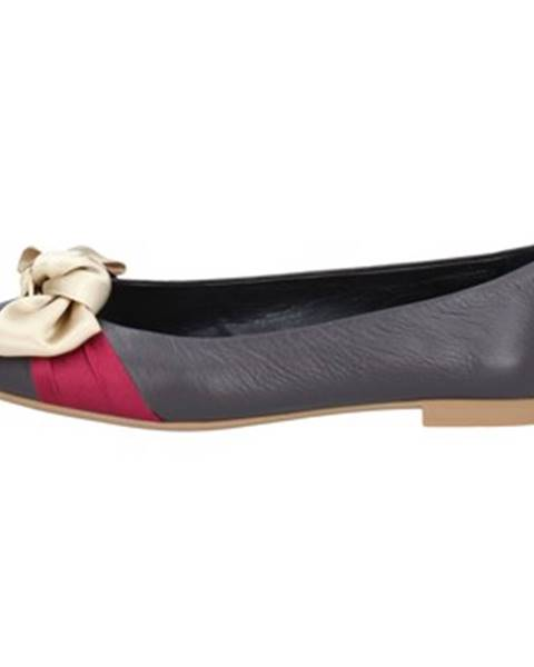 Hnedé balerínky Bally Shoes